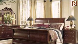 Cherry Grove Sleigh Bed Set - American Drew, Cherry Grove Collection 791-304r-set