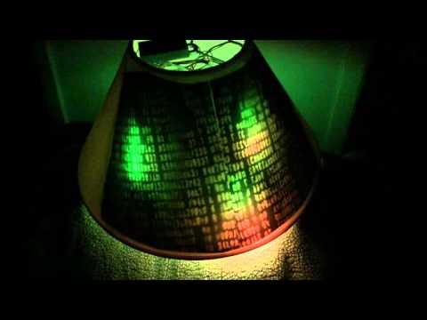 The Matrix Neopixel Digital Rain Lampshade: 4 Steps