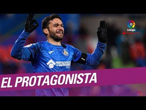 El Protagonista: Jorge Molina, jugador del Getafe CF
