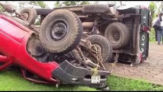 ACCIDENTE DE TRANSITO CARRETERA JUIGALPA -  LA LIBERTAD CHONTALES