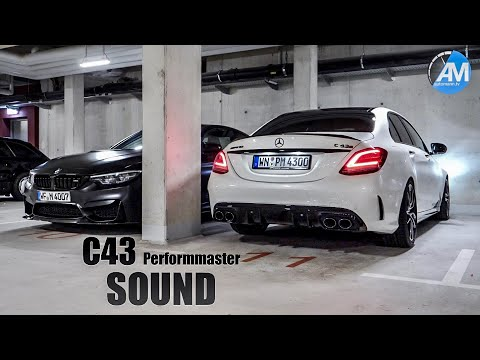 AMG C43 Performmaster (460hp) - Pure SOUND💥