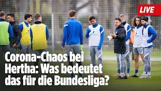 ⚽️ Corona-Chaos bei Hertha: Was bedeutet das für die Bundesliga?