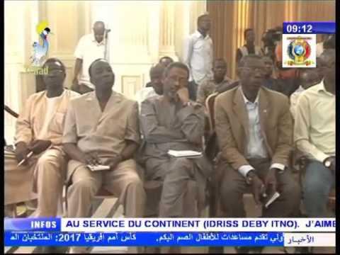 2ème partie de l'interview du président Idriss Deby Itno après son mandat à la presidence de l'UA