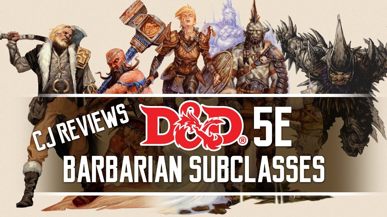 Ancestral Guardian, Storm Herald, Zealot & more Dungeons and Dragons 5e  Barbarian Subclass Review