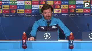 """Manchester City-OM : Villas-Boas veut """"sortir la tête haute"""" en Ligue des champions"""