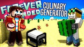 Minecraft - CULINARY GENERATOR - Forever Stranded #31