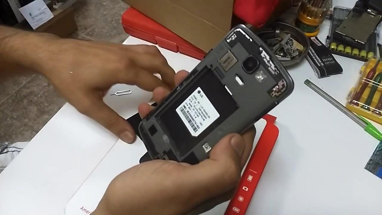 LG Optimus Zone 3 Sim Card Insertion