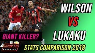 Callum Wilson vs Romelu Lukaku. Budget Vs Top Dollar - Stats Comparison 2018