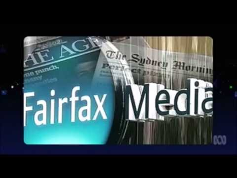 The bankruptcy of Fairfax Media and News Corp websites predicted on the ABC's Media Watch program