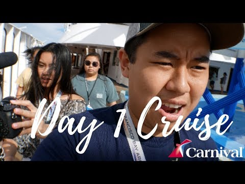 Going To The Bahamas! Boarding Carnival Cruise 🛳⚓️Day 1 Travel Vlog