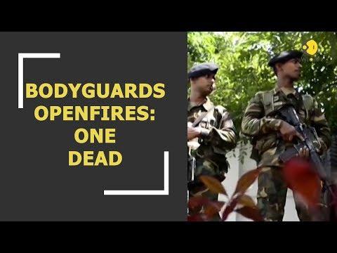 Sri Lanka's political crisis turns violent; one killed after bodyguards openfire