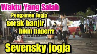 Download WAKTU YANG SALAH - FIERSA BESARI COVER BY TRI SUAKA l Sevensky Jogja