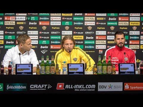 4. Spieltag   SGD - HSV   Pressekonferenz vor dem Spiel
