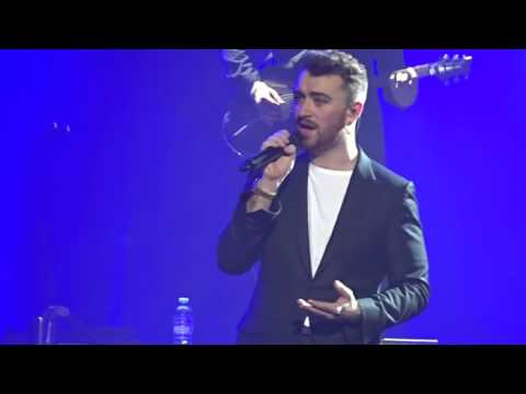 Sam Smith - Like I Can-  live Qantas Credit Union Arena 04/12/15. The Lonely Hour World Tour Sydney