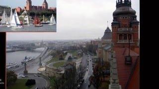 SZCZECIN Panorama z wieży ,-Zachodniopomorski Urząd Wojewódzki 2015/11-07