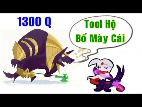 ThrowThi Best NASUS 1300Q Đập Vỡ Đầu Varuss Sài TOOL HACK