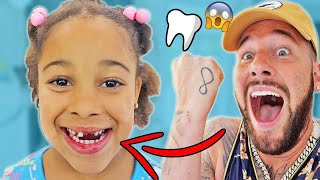 Cali Finally Lost Her Tooth!!!