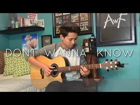 Maroon 5 - Don't Wanna Know - Cover (Fingerstyle...