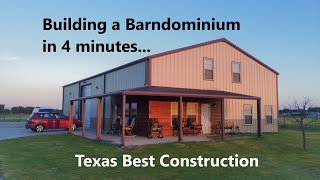 Building Your Dream - Barndominium - Texas Best Construction