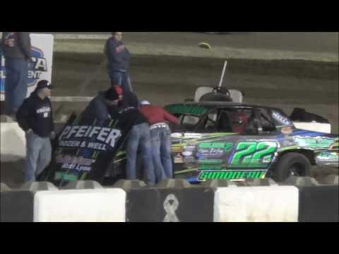 Salina Speedway *Mid America Clash 4* Budweiser IMCA Hobby Stocks 9-30-16