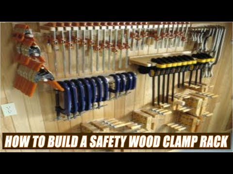 How To Build A Wood Clamp Rack With Safety Features