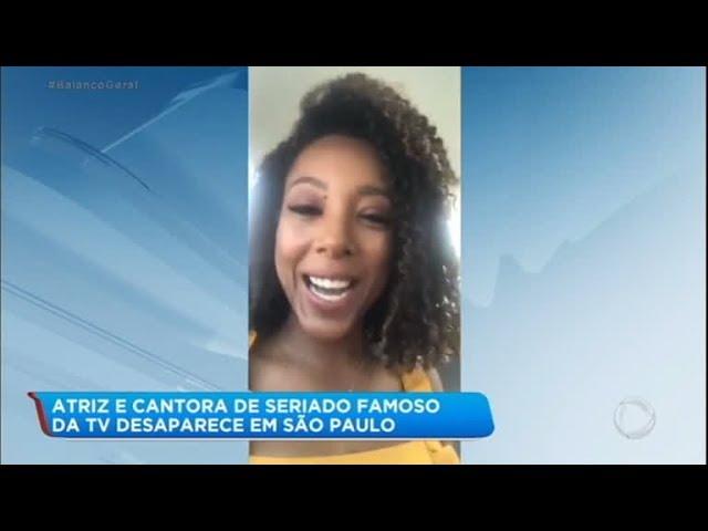 Negra Li oferece apoio e ajuda para cantora desaparecida