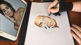 Drawing: Demi Lovato Time Lapse