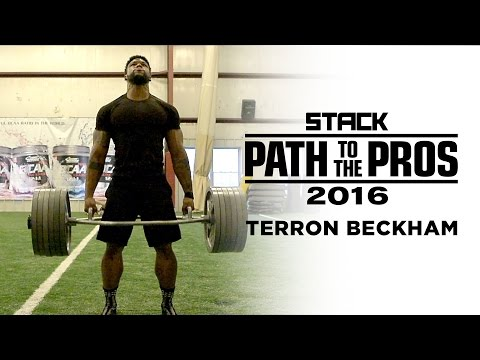 Path to the Pros 2016: Terron Beckham's Journey from Bodybuilding Beast to NFL Draft Prospect