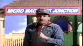 1990ish Amazing Micro Machines Galoob Runaway Train Commercial Thumbnail