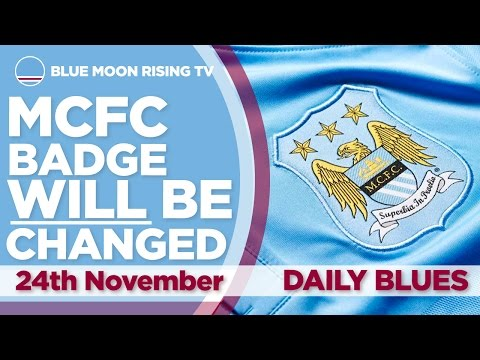 MANCHESTER CITY BADGE CHANGE CONFIRMED!   The Daily Blues