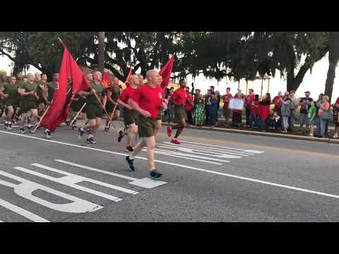 MCRDRD Parris Island Victory Run Bravo Company