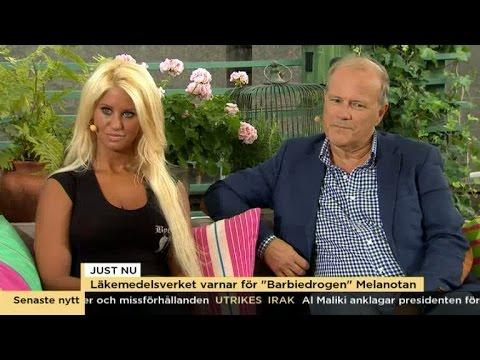 Läkemedelsverket varnar för Barbie-drogen  - Nyhetsmorgon (TV4)