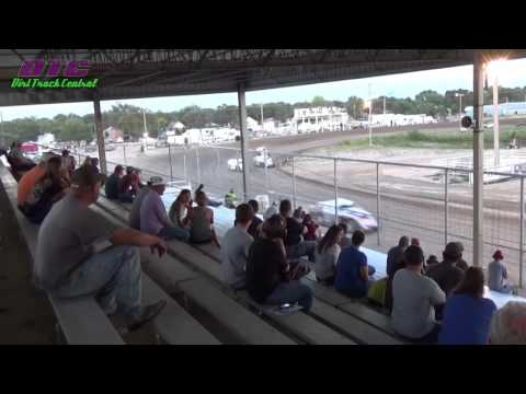 IMCA Sport Mod Heat Race Thomas County Speedway 9-4-15