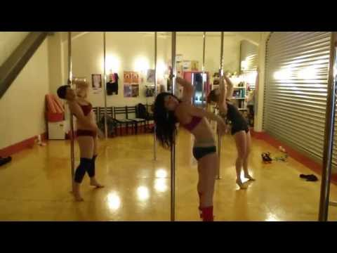 'Hit Me Like a Man' - Friday Pole Grooves @ Body Electric Pole