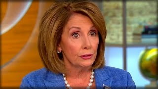 NANCY PELOSI ASKS PEOPLE WHAT THEY LOVE ABOUT OBAMACARE, INSTANTLY REGRETS IT WHEN THIS HAPPENS...