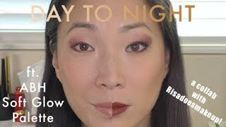 ABH Soft Glam Palette | Day To Night Makeup Tutorial