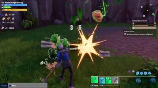 Fortnite Get Ammo from Search Plants in Solo Storm Shield Defense