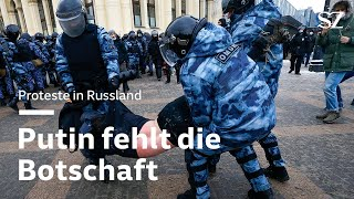 Proteste in Russland: Putin fehlt die Botschaft