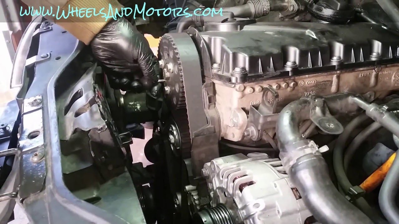 Fuel Filter How To Replace Timing Belt Cambelt And Water Pump 1