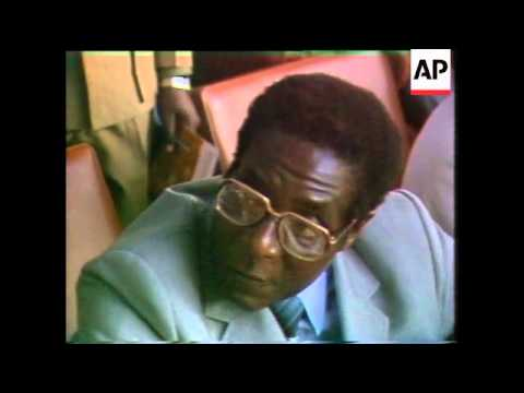 Mugabe at rally denying excesses by his troops