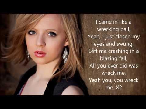 Wrecking Ball - Miley Cyrus by Madilyn Bailey Lyrics