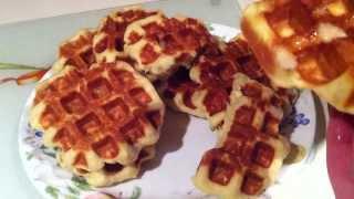 Belgian Liege Waffles -  Basic Recipe