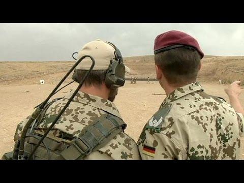 Német katonák képzik ki az iraki kurdokat