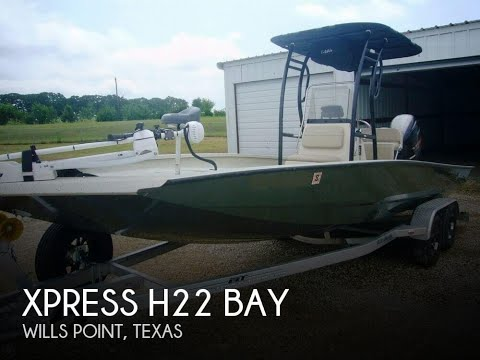 [UNAVAILABLE] Used 2016 Xpress H22 Bay in Wills Point, Texas