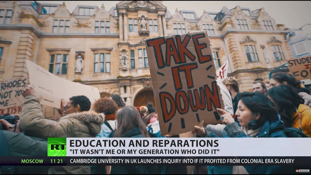 Should anyone pay reparations for '400 years of slavery' in UK? (DEBATE)
