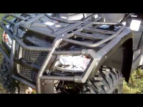 HISUN 800 V2 EFI EPS Detailed Review and Sound Quad ATV