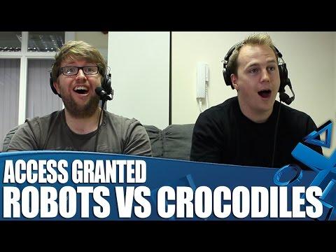 Access Granted - Robot Skateboard VS Crocodile Breakdance