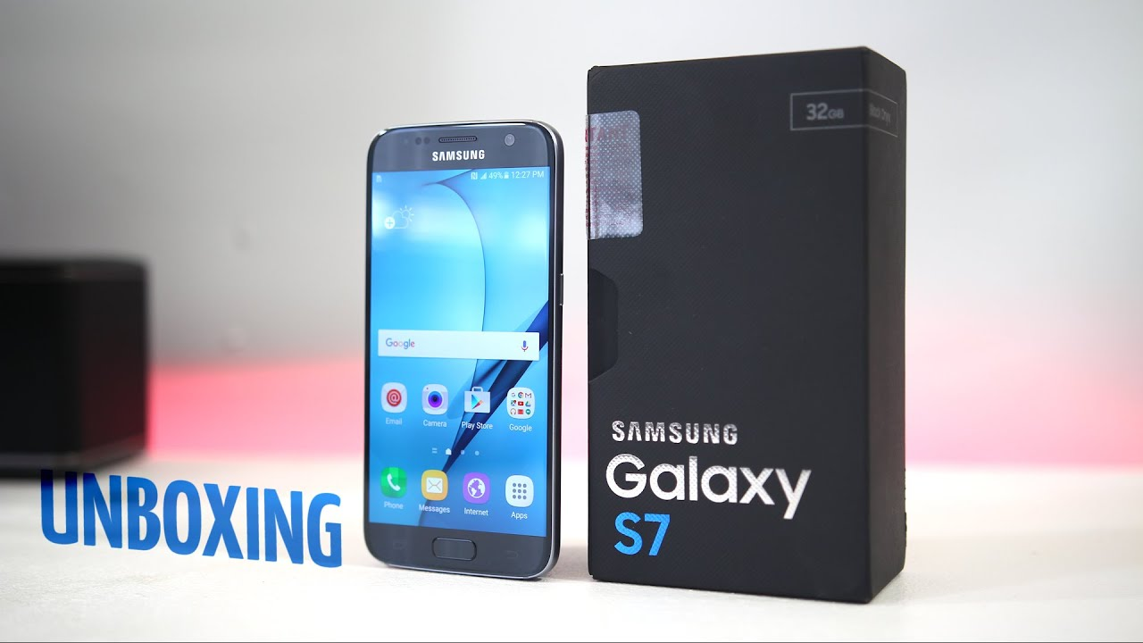 Samsung Galaxy S7 Unboxing and First Look!