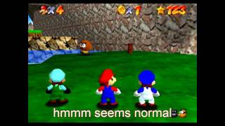 super mario 64 bloopers: mini italians