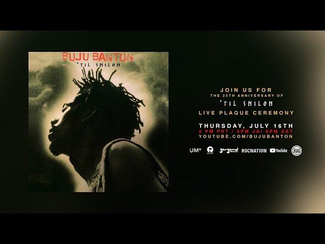 Buju Banton 'Til Shiloh Live Plaque Ceremony